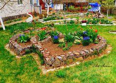 Няколко артистични и атрактивни идеи за градина, изработени с много вдъхновение, желание и творчество. Ето какво можем да постигнем когато вложим т