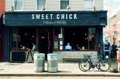 Restaurant in Bedford Avenue, Williamsburg, Brooklyn , New York