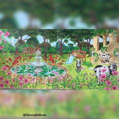 #rhapsodyintheforest #rhapsodyintheforestcoloringbook #kanokoegusa #kanokoegusacoloringbook #coloringbook #coloringforadults #ausmalen…