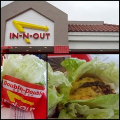 When we go to #California we always treat ourselves to In-N-Out burger 'Protein Style'. I wish more fast-food restaurants would offer lettuce buns for people in a pinch! #keto #lowcarb