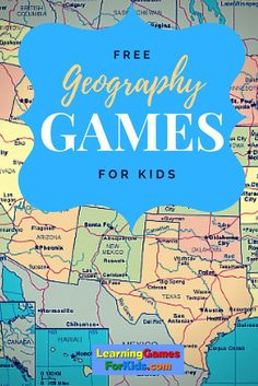Learn states and capitols, countries, and locations... all for free!