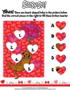 #ScoobyDoo #ValentinesDay Puzzle