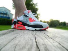 #Nike Air Max 90 Infrared