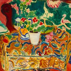 Seville Still Life (detail) 1911 by Henri Matisse
