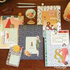 Hands down these have been my favorite dividers and accessories I have done - so fun and incorporating simple elements like journal cards and embellishments. When you enjoy swapping out your dividers a lot it pays to adopt a simple decorating style! I will be filming a video this weekend for YouTube for setting up another planner and a walk through for how I am using them! I am so glad it's Friday how about you? #theresetgirlplans #theresetgirlplansfilofax #fallplanner #plannerdecorating…