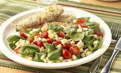 Spinich Pasta Salad