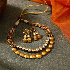 Gold Mangalsutra Designs, Gold Jewellery Design, Gold Jewelry, Gold Necklaces, Diamond Jewellery, Mumbai, Manubhai Jewellers, Necklace Designs, Evans