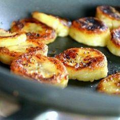 Banana grelhada com mel e canela | 11 receitas de lanchinhos saudáveis para quem quer ter pouco trabalho