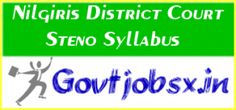 Nilgiri District Court has issued the Nilgiris District Court Steno Syllabus 2016 and Exam Pattern on its official website. Nilgiris District Court has announced the #jobnotification for fill the 46 positions of Stenographer, Junior Clerk-cum-Copyist, and Typist Posts. #recruitment #govtjobs #jobs