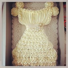 I Never Do These Pull Apart Cupcake Cakes But Had A Client Request 30 Wedding Dress Cake Now Can Say That Have Officially