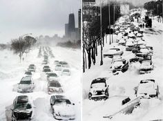 A Monday on LSD (Lake Shore Drive) -- Chicago. Winters past.
