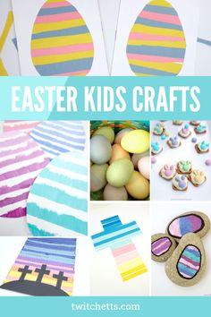 These Easter crafts