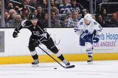 Jeff Carter and Phil Kessel
