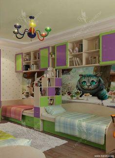Детские для Двоих Универсальные - | Галерея Мебели - Детская мебель