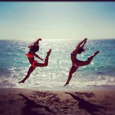 as a dancer, i totally love this picture. only thing that bugs me: girl on the left needs to point her toes! haha.