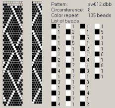 31 Besten Schlauchketten Muster Bilder Auf Pinterest Bead Crochet