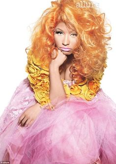Nicki Minaj. I love her and I am not ashamed of it.