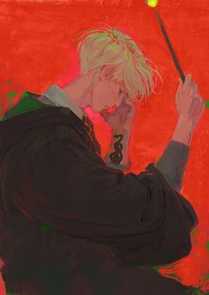 Fixated on Harry Potter even after it stopped being cool. Bear with me as I draw some HP/Drarry fanart. Arte Do Harry Potter, Harry Potter Drawings, Harry Potter Anime, Harry Potter Universal, Harry Potter Fandom, Hogwarts, Slytherin, Draco Malfoy, Harry Draco