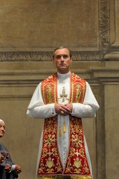 The Young Pope has quickly become one of the most talked-about new shows of but perhaps not in the way HBO was hoping. Starring Jude Law and Diane Jude Law, Pope Costume, Young Pope, Avatar, New Pope, Movie Previews, Hey Jude, Pope John Paul Ii, Most Popular Memes
