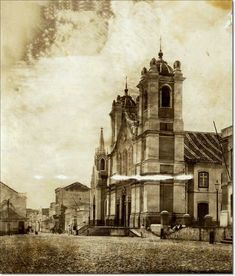 Rio Grande Do Sul, Notre Dame, Brazil, City, Building, Poster, 30, Painting, Old Photographs