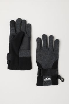 e229772b82 Smartphone Gloves - Dark gray melange - Kids