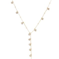 """Love this sleek look. Compliment your polished demeanor with this Great Gatsby piece that is excellent for Speakeasy soirees, daily wear and to attain the vintage look! With this whimsical piece, you will be the center of attention as the gold bead chain glimmers.    - Gold metal tone, beads  - 30"""" long, 2 1/4"""" extender  - Lobster clasp closure  Love this! Found it on The Glam Spot"""