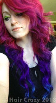 urs -   - 'N Blue   - -   - Hot Hot Pink   - Violet (Pravana)