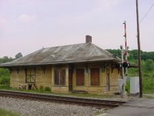Old Railroad Depot Station in Chuckey, TN