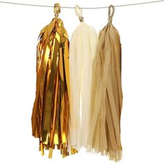 Tissue Paper Tassels for Wedding, Baby Shower Lings moment Tassel Garland #lingsmoment