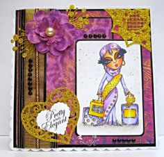 Dream Laine: Fabulous Scruffy Little Cat - Aamira for Crafter's Companion