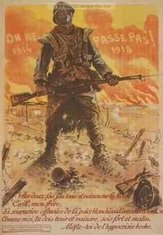 On ne passe pas!  1914  -  1918.