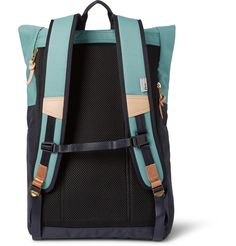 Master-Piece - Hedge Leather and Canvas Backpack|MR PORTER