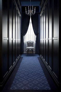 Men's wardrobe - Private residence - Atlanta   Designed by Michael Habachy for showhouse