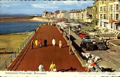Sandylands Promenade, Morecambe Morecambe, Seaside Resort, Where The Heart Is, Lancaster, Travel Posters, Past, Cool Pictures, Places To Go, Nostalgia