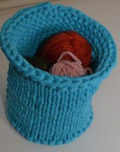 sturdy knit bowl