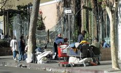 Andrew Bales believes a horrifying infection that's left him unable to walk came from walking around Skid Row.  Clearly his doctors have never heard about the healing benefits of hyperbaric oxygen therapy!
