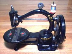 Restored Antique 1868 Gold Medal Johnson Clark Hand Crank Sewing Machine, Sews #GoldMedalSewingMachineCo