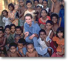 Tribute to the Humanitarian Work of Audrey Hepburn | Her Work - Getting Ivolved with UNICEF