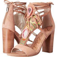 14474de2579748 Sam Edelman Yvette (Suede Golden Caramel) High Heels ( 75) ❤ liked
