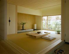 和室 – Home Decor Style Japanese Style Bedroom, Traditional Japanese House, Japanese Interior Design, Home Interior Design, Interior Architecture, Japanese Living Rooms, Bedroom Minimalist, Minimalist Home, Japan Room
