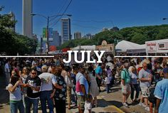 Every Single Summer Festival in Chicago, Now in One Calendar