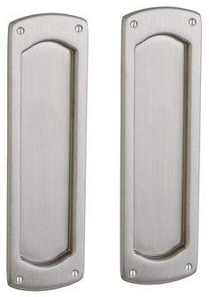 Baldwin PD007.PASS Palo Alto Passage Pocket Door Set with Door Pull from the Est