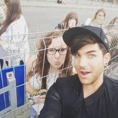 """@adamlambert  #myidol #king #misio #adam #lambert #glambert #forever #dreamscometrue  #girl #boy #polishfan #najlepszy_program #Warsaw #mylove"""