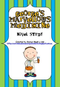 Most Popular Teaching Resources: George's Marvellous Medicine Novel Study - Chapter. Primary Teaching, Teaching Resources, Teaching Ideas, Roald Dahl Activities, Georges Marvellous Medicine, Literacy Circles, Growth Mindset Classroom, Procedural Writing, Literature Circles