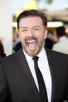 Ricky Gervais we LOVE Ricky