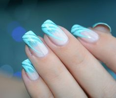 NAIL ART FRENCH ZEBREE 5