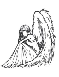 Sioban Mckey | Sad angel by Sioban-Mckey on deviantart and tumblr