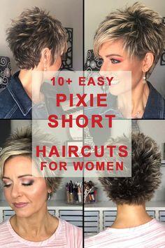 Short Hair Over 60, Short Hair Older Women, Super Short Hair, Short Choppy Hair, Short Thin Hair, Short Hairstyles For Thick Hair, Short Grey Hair, Short Sassy Haircuts, Short Hair With Layers