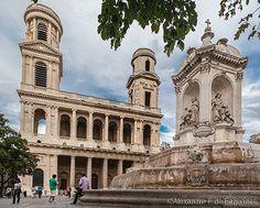Saint Sulpice church, Paris, France