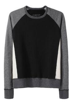 $290  (Rag & Bone / Color Block Dakota Sweatshirt)
